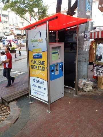 UlaşımPark seyahat kartları için iki dolum cihazı daha kurdu