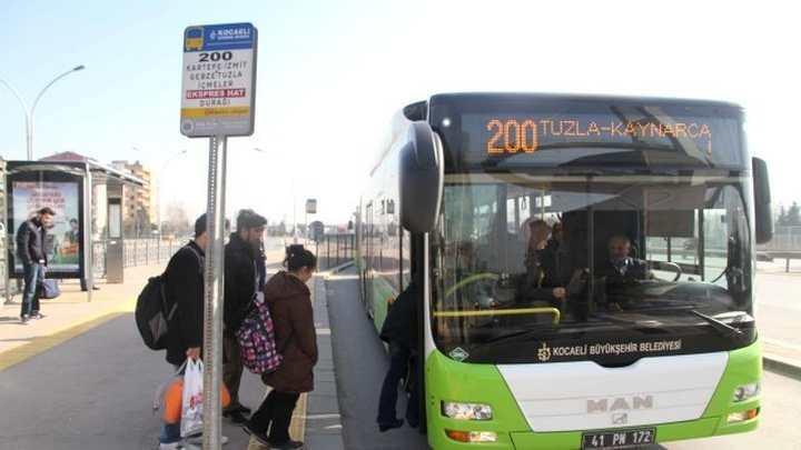 Umuttepe Otobüs Hareket Merkezinde Geçici Düzenleme