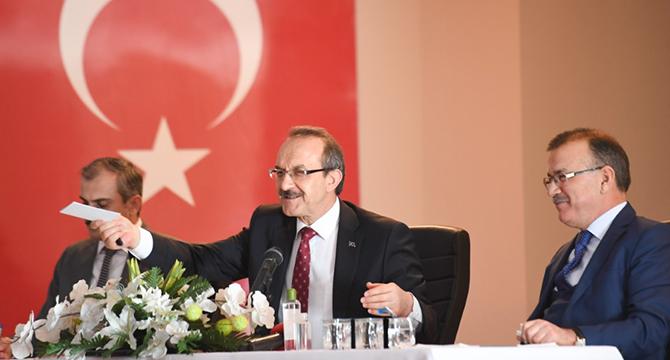 Vali Yavuz, Çayırova'da Müdür ve Muhtarlarla görüştü