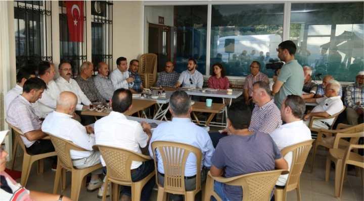 Vatandaşlar talep ediyor, Büyükşehir yöneticileri çözüyor