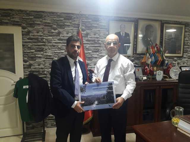 Veral İnşaat MHP İl Başkanı Aydın Ünlü'ye Proje Sunumu Yaptı