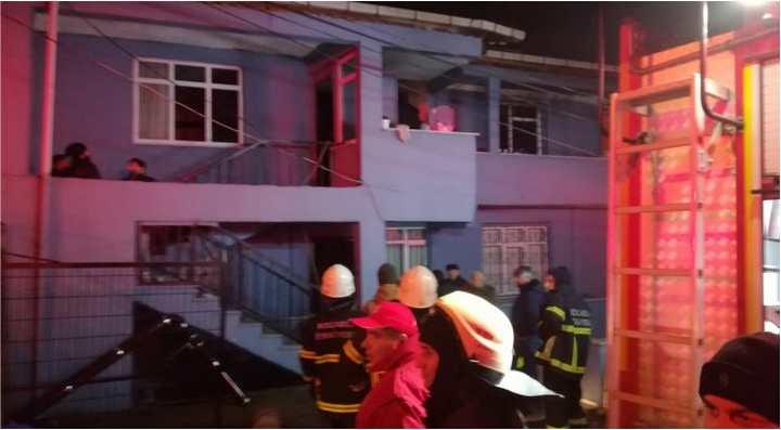 yangın büyük paniğe neden oldu!