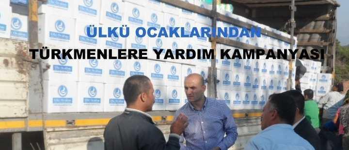 Yardımlar Türkmenlere