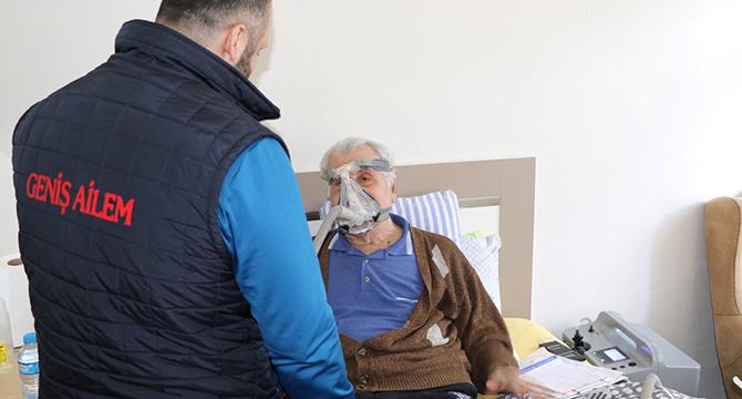 Yaşlı ve engelli vatandaşlarımızın kolu kanadı oldu