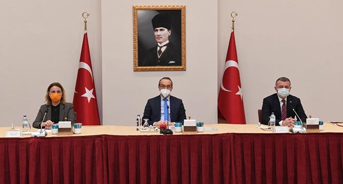 Yavuz Başkanlığında İstişare Toplantısı
