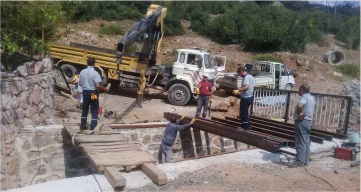 Yeditepe Sokak'a yeni köprü