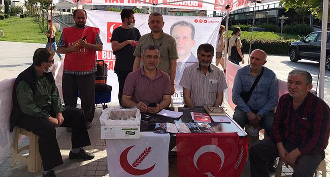 Yeniden Refah Partisi üye alışmalarını sürdürüyor