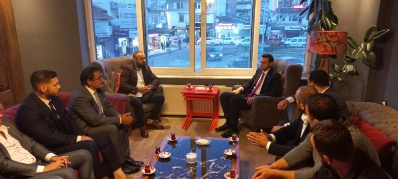 Yunus Emre Kurt, Kemal Okur ve Yönetimleri, Meclis Üyelerinden Ziyaretler