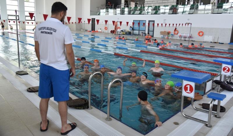 Yüzme Havuzu'nda kayıtlar başladı