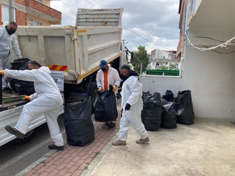 Zabıtadan çöp ev operasyonu