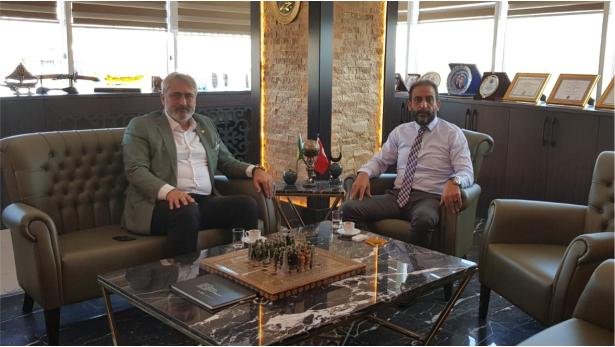 Aydın'dan Başkan Gülen'e ziyaret