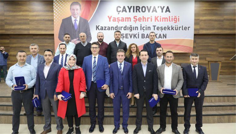 Başkan Demirci, Vefa Gecesinde Personelleriyle Buluştu