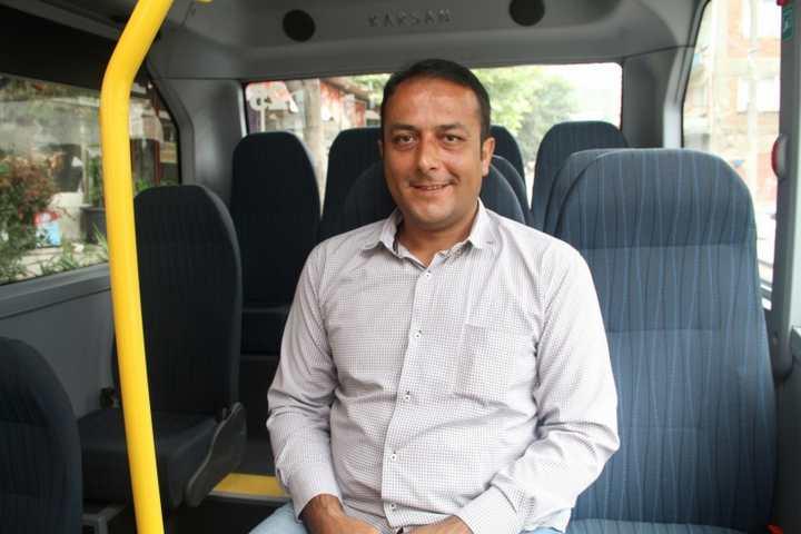 Büyükşehir'den yolculara Jest