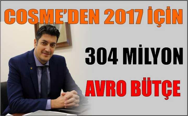 COSME'den 2017 için 304 milyon Avro Bütçe