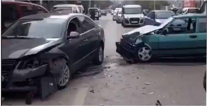 Drift kaza ile sonuçlandı