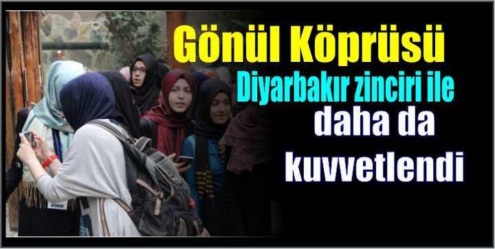 Gönül Köprüsü Diyarbakır zinciri ile daha da kuvvetlendi