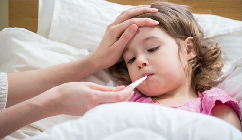 Grip olan çocuğa aspirin vermeyin