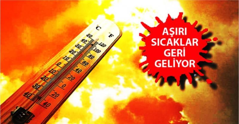 Hava Sıcaklıkları Artmaya Devam Ediyor