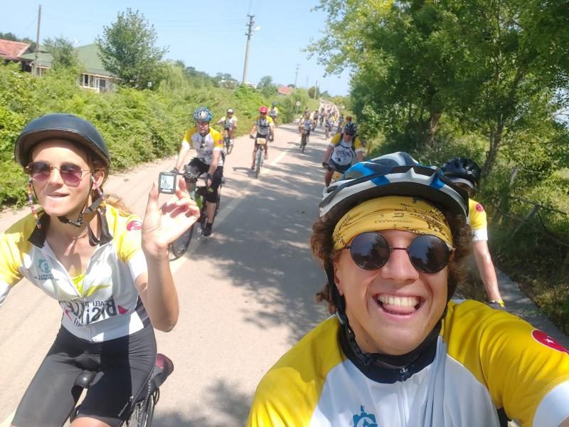 Hollandalı Bisikletçiler 4000. Kilometreyi Kocaeli'de Pedalladı