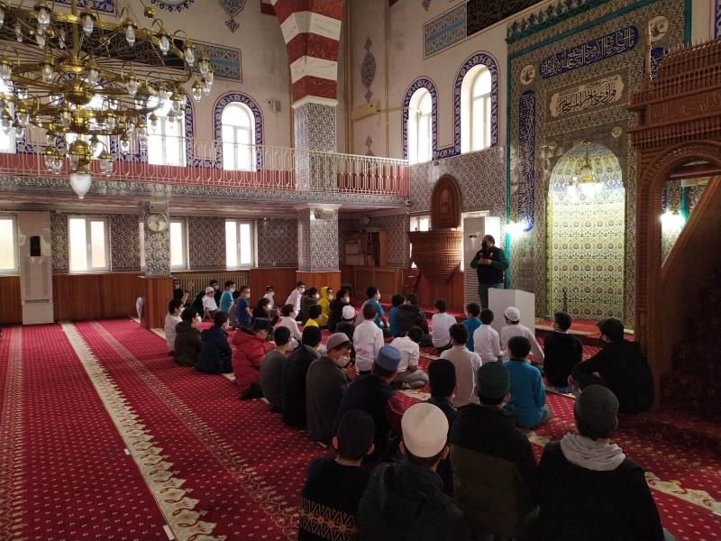 İtfaiye'den Kur'an Kurslarına yangın güvenliği semineri