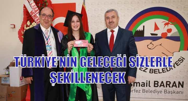 Türkiye'nin geleceği sizlerle şekillenecek