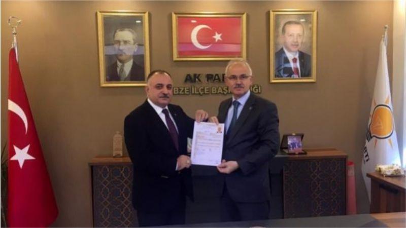 Yağcı'dan Belediye Başkanlığına aday adaylığı