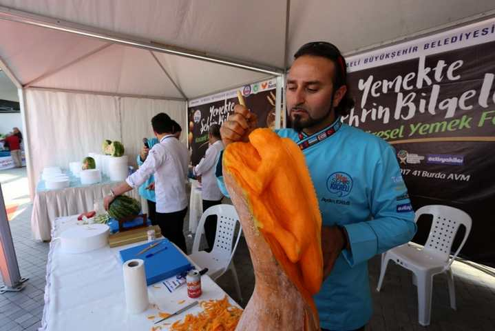 Yöresel Yemek Festivali başladı