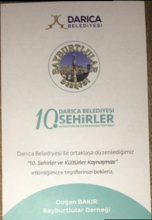 BAYBURTLULAR KÜLTÜR FESTİVALİNDE BULUŞACAK