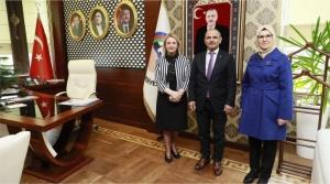 Zeybek ve Katırcıoğlu'ndan Söğüt'e ziyaret