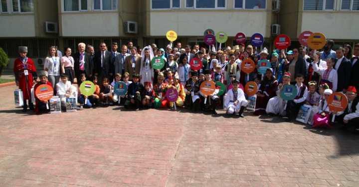 Dünya çocuklarından Topaca'ya ziyaret