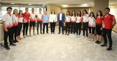 2020 Dünya Gençler Oryantiring Şampiyonası'nın ilk antrenmanı yapıldı