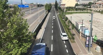 2020 yılında 67 kilometre yol, 115 bin ton asfalt serimi yapıldı