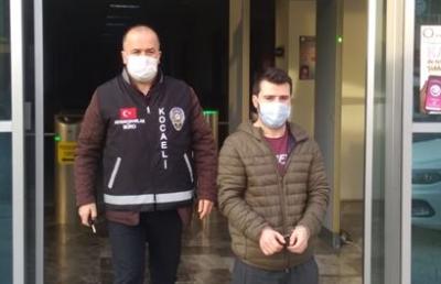 25 yaşındaki sabıkalı yakalandı