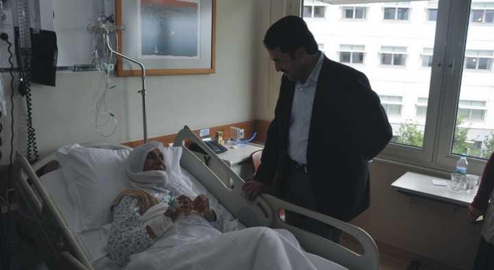 Başkan Yaman'dan Hastalara Ziyaret