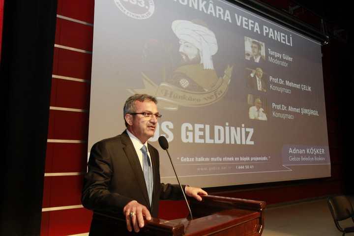 Gebze'de 'Fatih' paneli