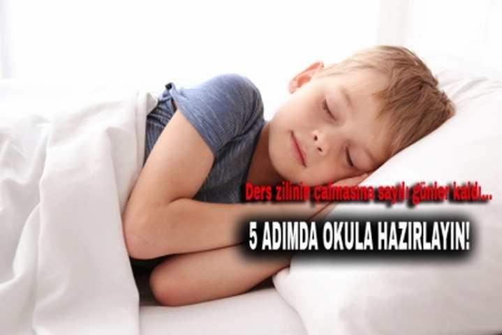 5 ADIMDA OKULA HAZIRLAYIN!