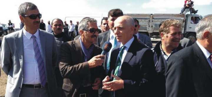 Başkan Akbaş Kars'taydı