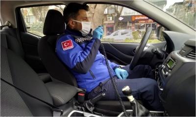 85 araçla vatandaşlar uyarılıyor
