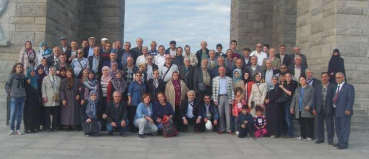Emekliler Çanakkale'yi gezdi