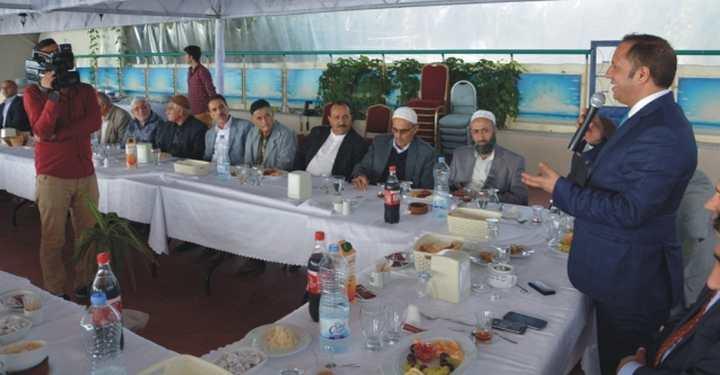 Başkan Toltar Hacılar ile bir araya geldi