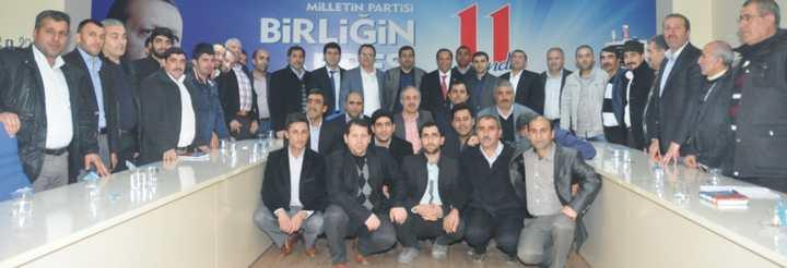 Toltar mahalle başkanlarını topladı