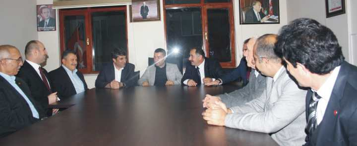 Saadet Partisi'nden Akkuş'a Ziyaret