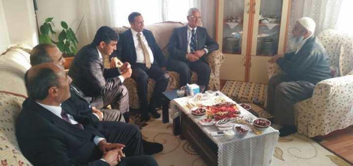 Başkan Toltar'dan Hacılara Ziyareti