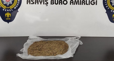 98 gram bonzai ele geçirildi