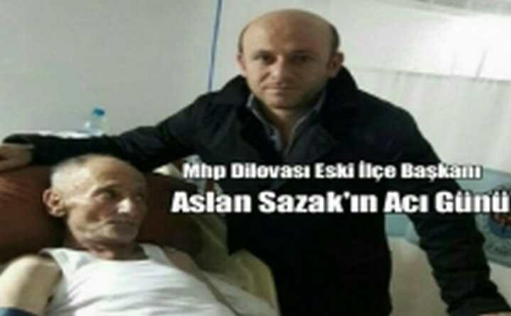 Ahmet Ali Sazak Vefat Etti