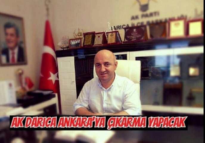 AK Darıca Ankara'ya Çıkarma Yapacak