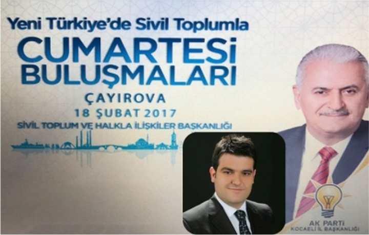 AK KOCAELİ ÇAYIROVA'DA STK'LARLA BULUŞUYOR