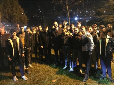 AK Parti İzmit'te Sahadan Ayrılmıyor