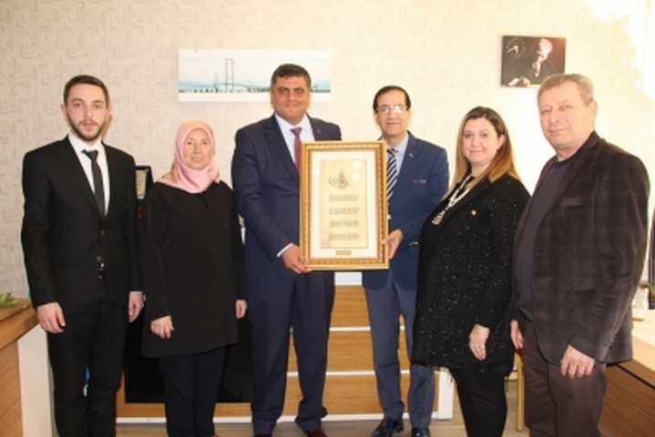 AK Parti İzmit'ten Kent Konseyi'ne Ziyaret