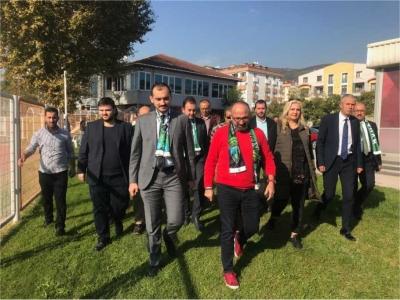 Ali Güney'den Kocaelispor'lu Futbolculara Moral Ziyareti